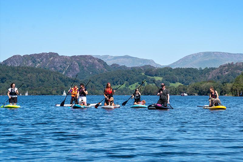 SUP PUP Lake District